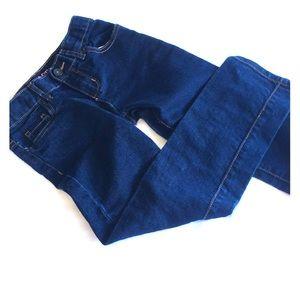 Girls 6X/7 dark wash skinny jeans